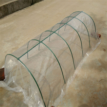 Small vegetable heat preservation shed family vegetable arched greenhouse can be equipped with insect proof net