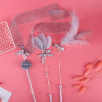 3-pcs-with-bells-feather-cat-rod-portable-pet-supplies-catcher-attractive-funny-tassel-training-playing-interactive-toy