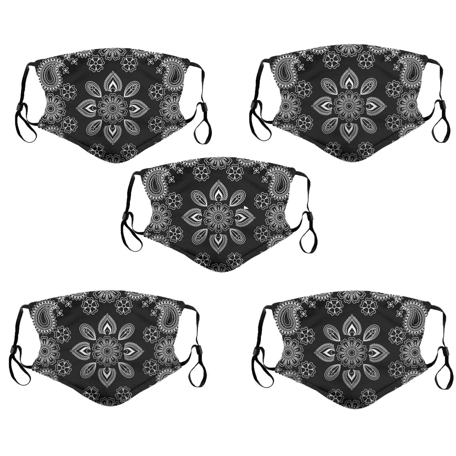 Masque de protection en coton lavable, respirateur, pour l'extérieur, protection contre la poussière