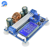 35W Charger Module DC 5.5 30V to 0.5 30V Automatic Step Up Down Adjustable Charging Board with LCD Digital Display