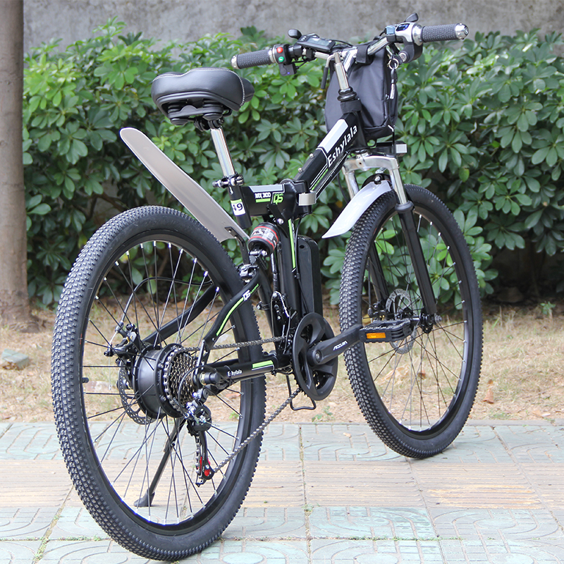 factory Price ready to ship electric bike 350W/500W 26 inch folding bike electric bicycle with 10Ah/13Ah battery 1