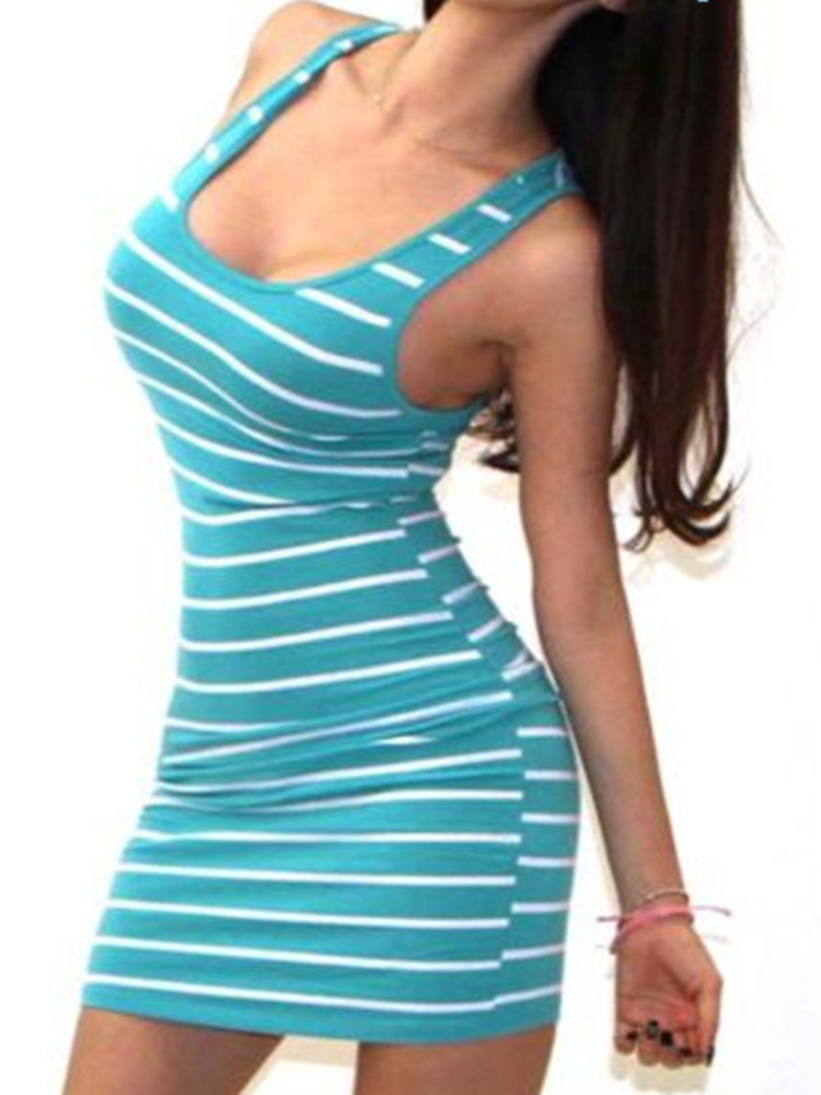 H9ca1d5facd4c4254a4613c7d82ff80e6t Long Short sleeve autumn winter Casual Women Striped Bandage Bodycon Dress Sexy Slim Sleeveless Evening Party Mini Dress
