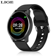 LIGE Fashion Sports Smart Watch Women Men Fitness tracker He