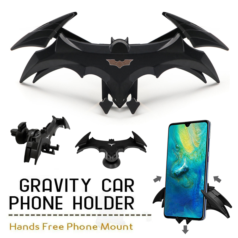 Universal No Magnetic Car Phone Holder Car Air Vent Bat Mount Autophone Bracket For IPhone X Samsung Phone Support GPS