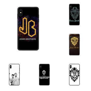Black Cover Case Jonas Brothers For Xiaomi Mi Note A1 A2 A3 5 5s 6 8 9 10 SE Lite Pro Ultra image