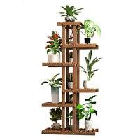 خشب متين يبث زهرة غرفة المعيشة المضادة للتآكل متعدد الطوابق تجميع في الهواء الطلق الأرض داخلي لحمي علم النبات مقاطعة الفضاء