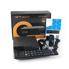 цена на Full HD 1080P GT media V9 Super Europe  Satellite TV Receiver H.265 WIFI Same DVB-S2 GTmedia V8 NOVA Receptor Cline for 3 Years