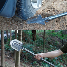 Профессиональная тактическая многофункциональная лопата для выживания на открытом воздухе, складные инструменты, садовое оборудование для кемпинга, армейский инструмент