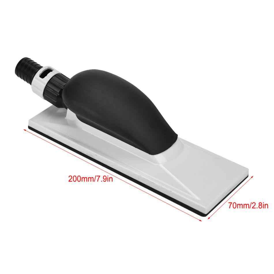 1Pcs Pengamplasan Blok Tangan Ekstraksi Debu Pengamplasan Spons Blok 20X7 Cm Debu Blok Kayu Grinding Batu Asah polishing Pad