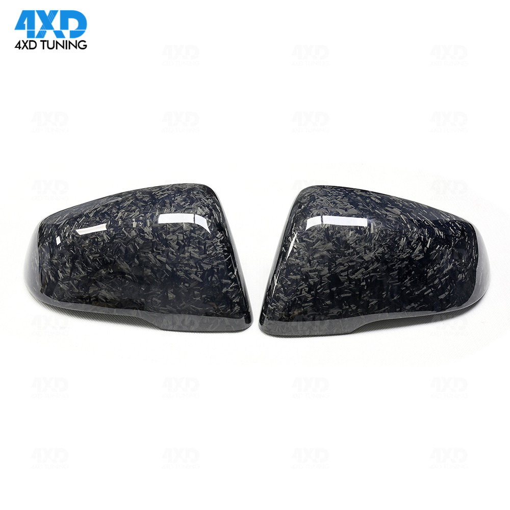 Replacement Real Carbon Fiber Side Mirror Cover for BMW F45 X1 F48 F49  X2 F39