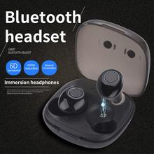 Tws Headphone Wireless Bluetooth 5.0 Earphone Mini Earbuds With Mic Charging Box Sport Headset For Smart Phone tws earbuds true mini wireless earphone bluetooth headphone with charging box as powerbank noise cancel headset airpods style