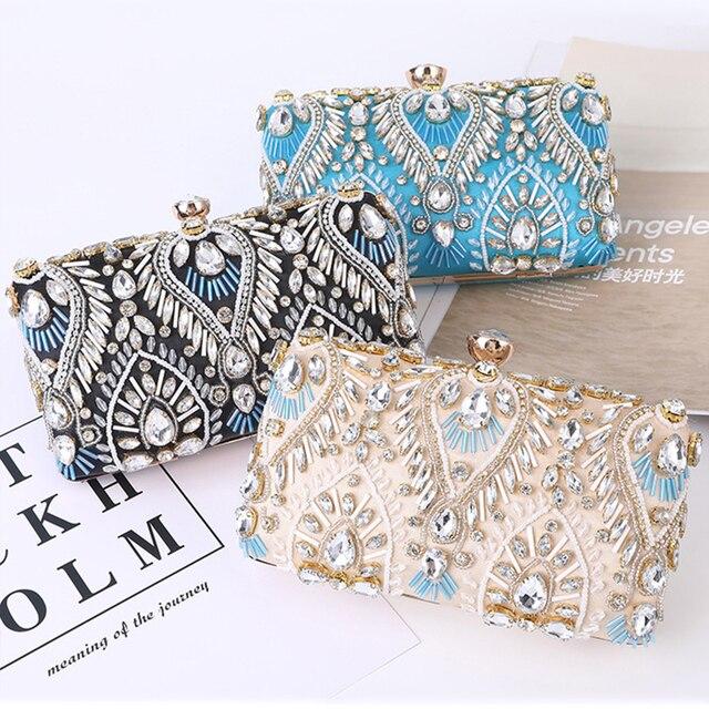 Exquisite Luxury Diamond Rhinestone Clutch  1