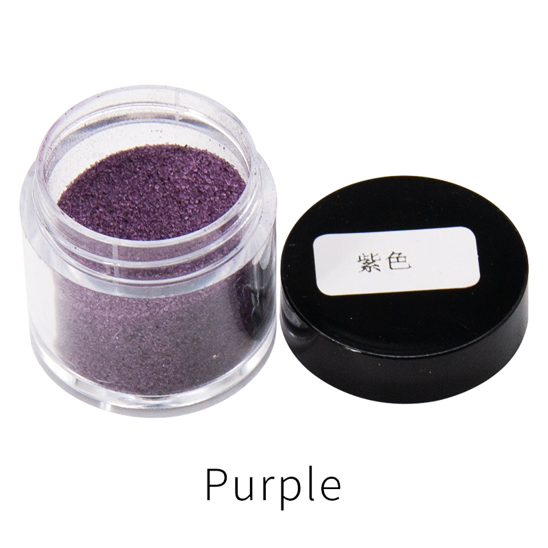Purple Fabric Dye Powder Pigment Dye For Clothing Renovation For Clothes Feather Bamboo Dyestuff Acrylic Paint Powder 10g/bottle