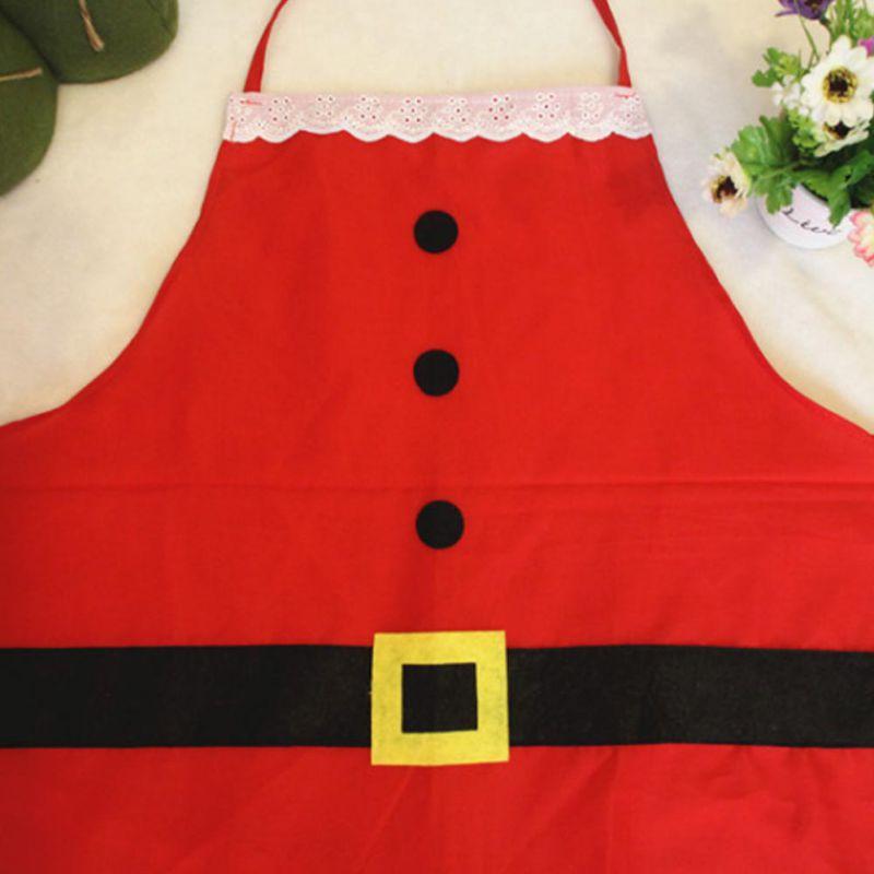 Kerstman Kerst Decoraties voor Huis Keuken Etentje Feestelijke Volwassen Overgooier Noel Decor Kicthen Tool - 4