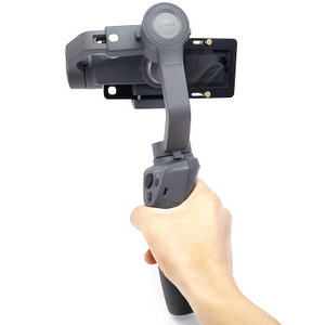 Image 3 - Handheld Gimbal Stabilizer Mount Plate For Gopro hero 8 Sports Action Camera For DJI OSMO Moblie Smooth 4 Q2 Snoppa Atom Isteady