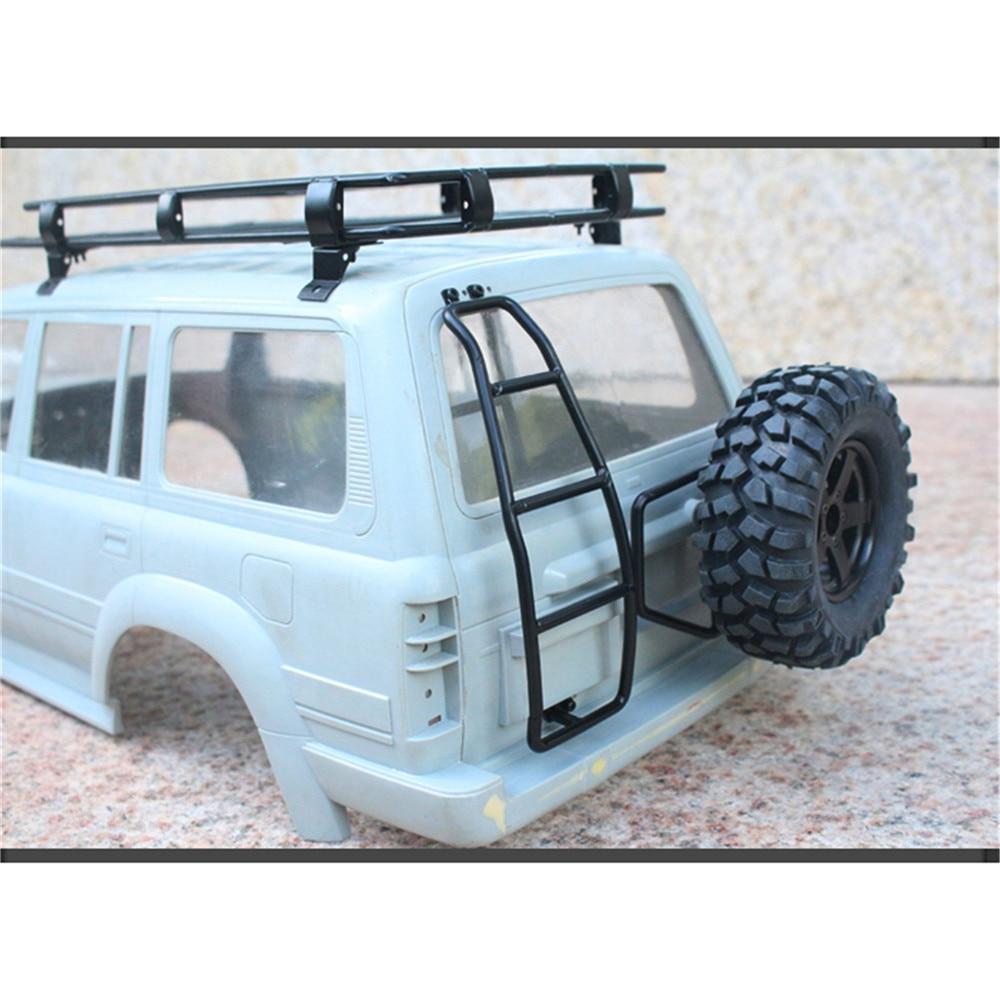 LC80 Metal Ladder für RCRUN TRX4 SCX10 2 II 90046 1//10 RC Rock Crawler Zubehör