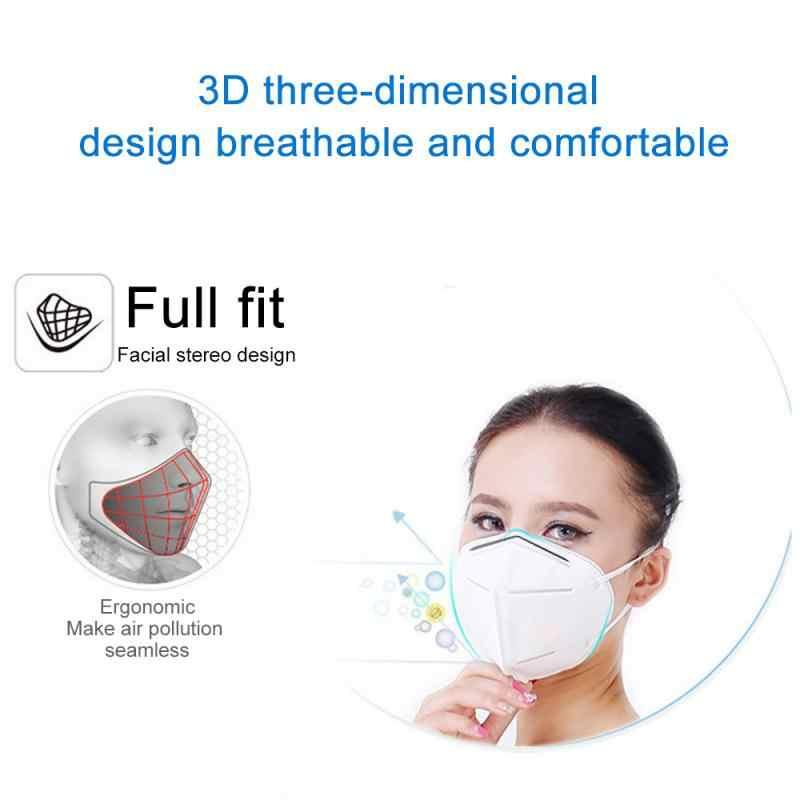 5 шт. безопасная защита Высокое качество N95 крышка рта KN95 Пылезащитная маска металлический нос FFP1 FFP2 FFP3 маска Пыленепроницаемая Дымчатая маска Pm2.5 маска