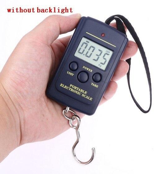 10g-40Kg Digital Balance Pocket Hanging Hook Scale Luggage Fishing Weight SD