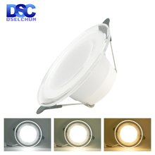 Светодиодный светильник 6 Вт 220 В Точечный встраиваемый круглый