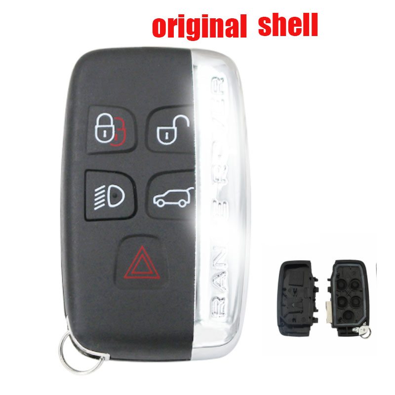 5 button Remote Car Key Shell Case for Land Rover Discovery 4 / Freelander for Range Rover Sport / Evoque 1