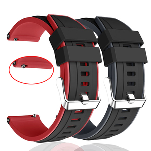 For Samsung galaxy watch 3 45mm Strap Double Color watchbands Sport Bracelet 22mm Watch band For galaxy watch 46mm