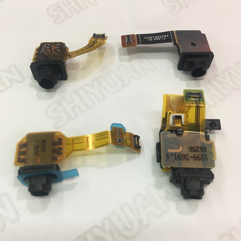 Earphone Headphone Audio Jack Flex Cable For Sony XZ1 Z5 Premium X Mini Microphone Replacement Parts For Sony Xperia