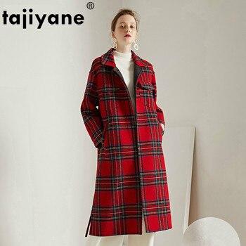 Korean Vintage 80% Wool Coat Female Spring Autumn Jacket Women Clothes 2020 Woolen Long Coats and Jackets Casaco Feminino ZT2238