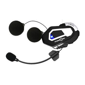 FreedConn T-Max Motorcycle Group Talking System 1000M 6 Riders Buletooth Intercom Headset
