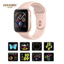 NEW 44mm size 1:1 Smart Watch IWO 8 Alloy matte case similar series 4 Heart Rate Smartwatch SIRI For iOS Android PK 5 6 Gift