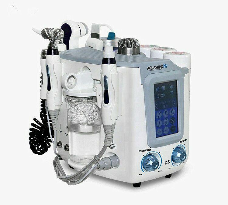 2019 Mini 6 In1 H2-O2 Hydro Dermabrasion eau Oxyge Peel Hydra visage Aqua Peel Machine pour rajeunir la peau