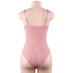 Женское Сексуальное Кружевное боди с ресницами, озорное Тедди белье для женщин, Кружевное боди размера плюс XXXL 5XL, нижнее белье, боди RW80875