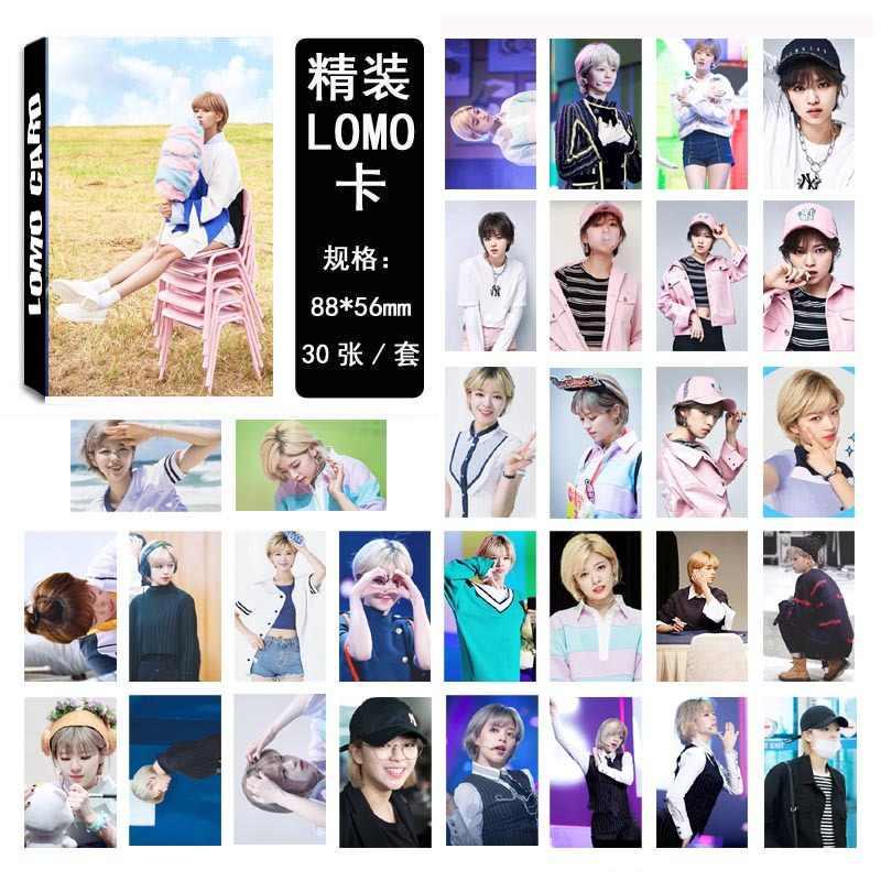 30pcs/set Kpop Twice Yoo JungYeon single photocard set new album HD good quality lovely TWICE Kpop photo card fans collection