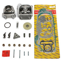 64mm-Valve-Head-Assembly-Kit 100cc 50mm-Cylinder Chinese Scooter 50cc-Gy6-139qmb Motorcycle