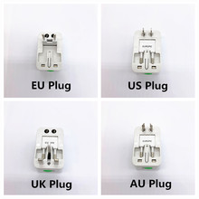 All in One Universal International Plug Adapter World Travel AC Power Charger Adaptor with AU US UK EU converter Plug(China)