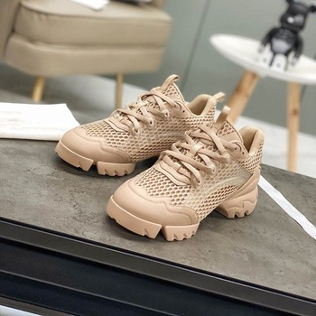 Brand D Women's Luxury Sneakers For Women Fashion Casual Sneakers Sport Shoes Woman Mesh Breathable Tennis Female Running Shoes 2020 fashion woman casual running flat shoes breathable sneakers sport women new arrivals fashion mesh sneakers flat shoes women