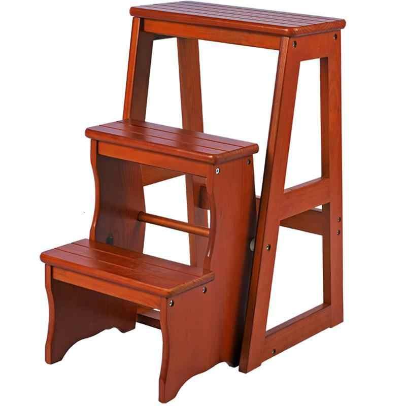 Pied Marchepied Pliant osmanlı küçük Marches Escalera Plegable katlanır mutfak ahşap merdiven merdiven sandalye Escabeau adım dışkı