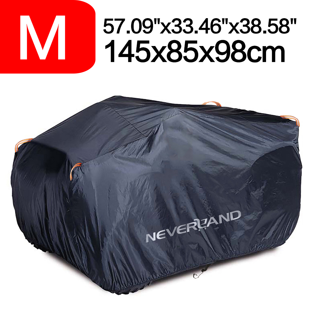 NEVERLAND M Waterproof Motorcycle Bike Cover Scooter Dust Rain Protection Blue