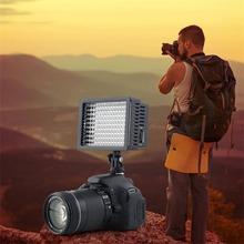 1Set Photography Studio 160 LED Studio Video Light for Canon for Nikon Camera DV Camcorder mcoplus 168 led video light on camera photographic photography panel lighting for canon nikon sony dv camera camcorder vs cn 160