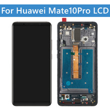 For Huawei Mate 10 Pro LCD Display Touch Screen Digitizer Replacement Parts With Frame For Huawei Mate 10 Pro Display Screen