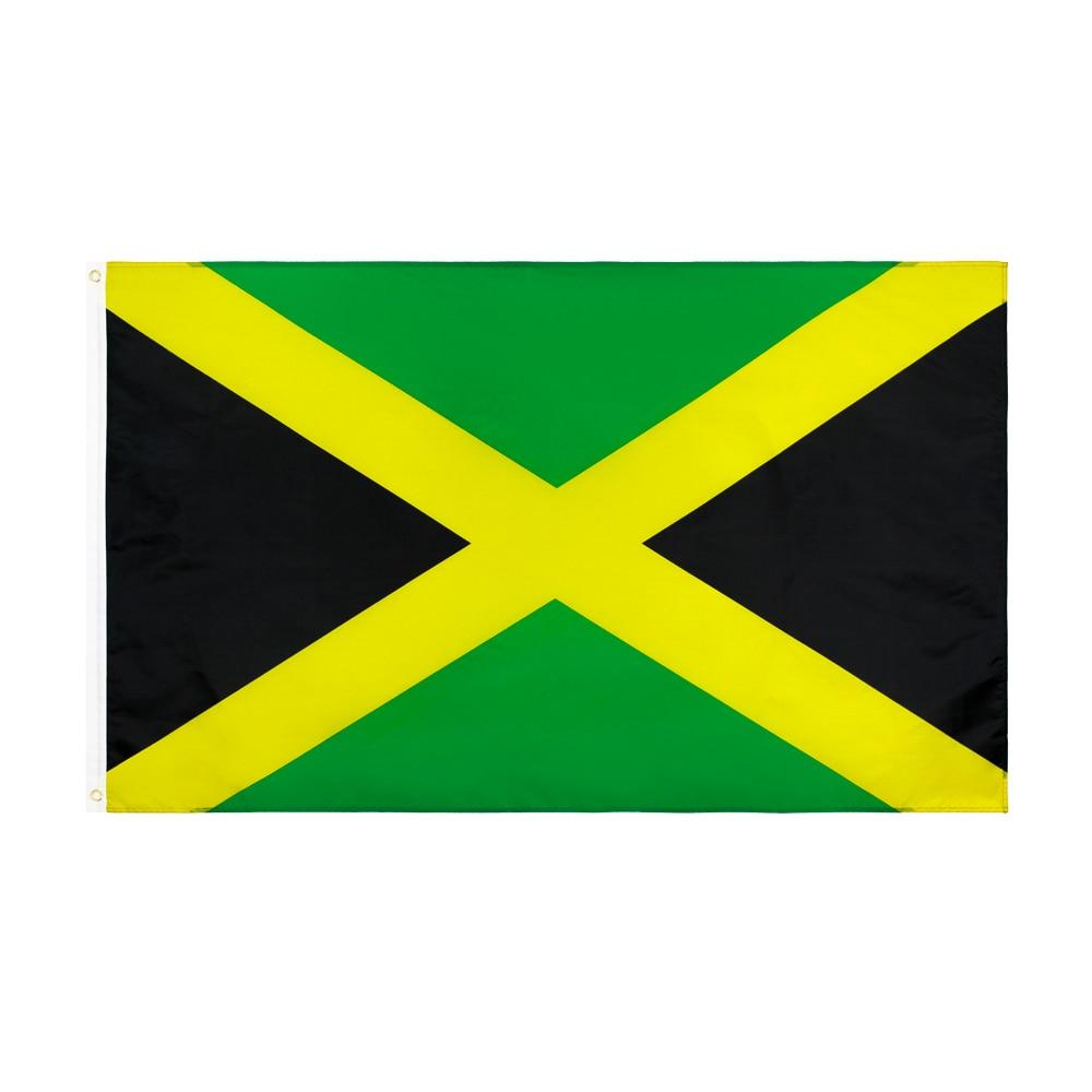 3/'X5/' Hanging Flag Banner WORLD A REGGAE Lion 90*150cm 4 grommets in corners