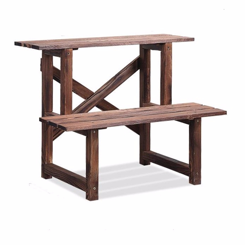 Etagere Pour Plante Garden Wooden Shelves For Repisa Para Plantas Rak Bunga Outdoor Stand Dekoration Balcony Flower Plant Shelf