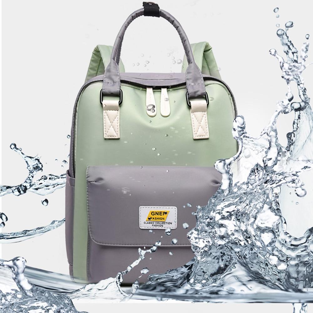 High Quality Women's Canvas Backpack New Travel School Bag For Girls Rucksack New Design Backpacks School Bags