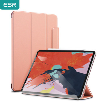 ESR iPad Cover for 2020 iPad Air 4 2018 iPad Pro 11'' 12.9'' Inch Secure Magnetic Auto Case Silky-Smooth Shockproof iPad Cover