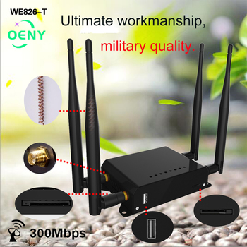 Wifi router 4g lte with sim card slot support B1 B3 B7 B20 For Europe USB modem router wireless access point MT7620 chips цена 2017
