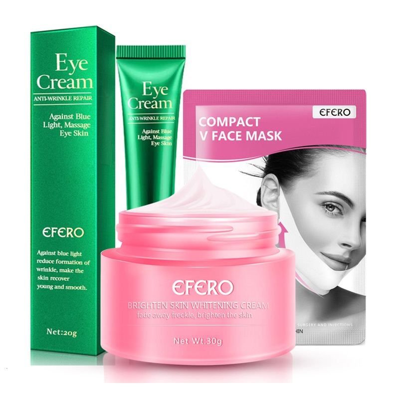 Anti Aging Cream for Face Care Moisturizing Dry Skin Care Whitening Eye Cream Dark Circle Lifting Firming Sliming Face Masks image