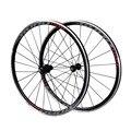 LUTU дорожный велосипед из алюминиевого сплава wheels700c четыре подшипника дорожный велосипедный набор колес 90 звон