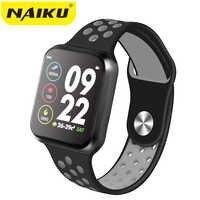 F9 relógios relógio inteligente IP67 15 dias longa espera À Prova D' Água freqüência cardíaca pressão Arterial Smartwatch Suporte IOS Android PK s226