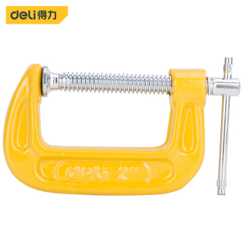 Deli Duty G Clamp c-clamp Metal Carpenter Handyman Vise Grip Hand Tool...