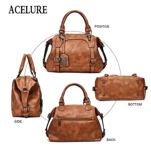 Image 5 - ACELURE, сумка через плечо, женская сумка тоут, брендовые сумки через плечо для женщин, сумки через плечо, винтажные кожаные сумки, сумки для женщин, известные