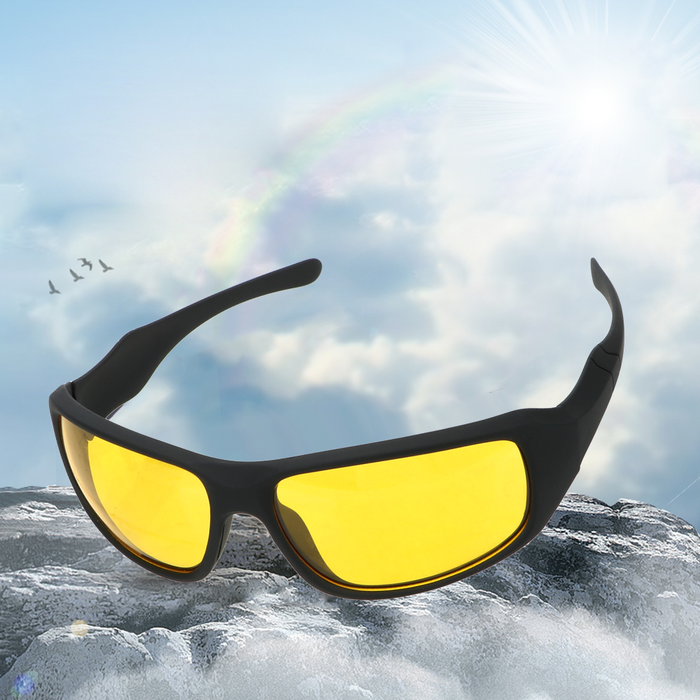 Car Glasses Night Vision Goggles Night Driving Motorcycle Glasses Wind Resistant For Men And Women Outdoor Sports Riding